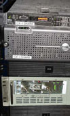 ETI UPS backing up systems in military ISO container