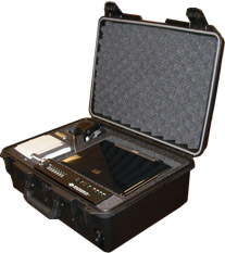 Rugged Tactical Computer Powercase with numerous UPB ports and options