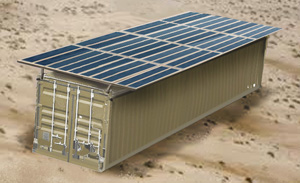 Tactical Container w Solar